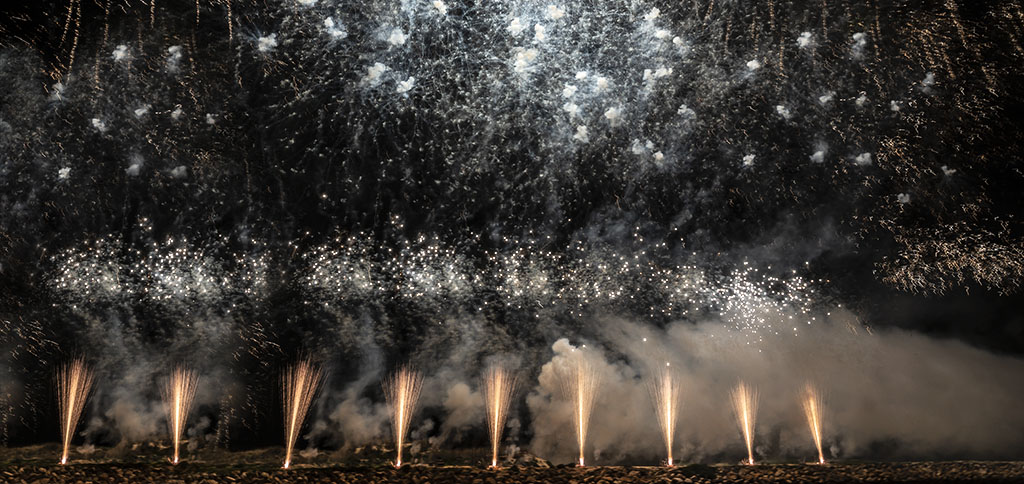 2020 New Year's fireworks celebrations. Photo by Alina Oswald. All Rights Reserved.