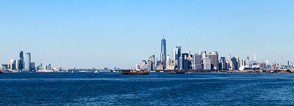 NY Harbor. Pano. ©Alina Oswald. All Rights Reserved.