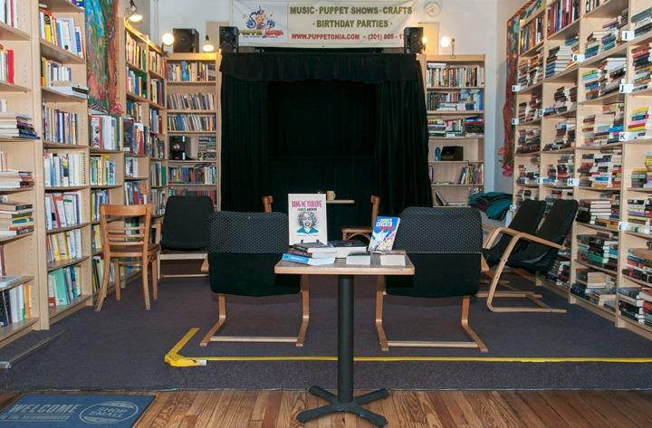 Symposia bookstore. Hoboken, NJ. @2015 by Alina Oswald.