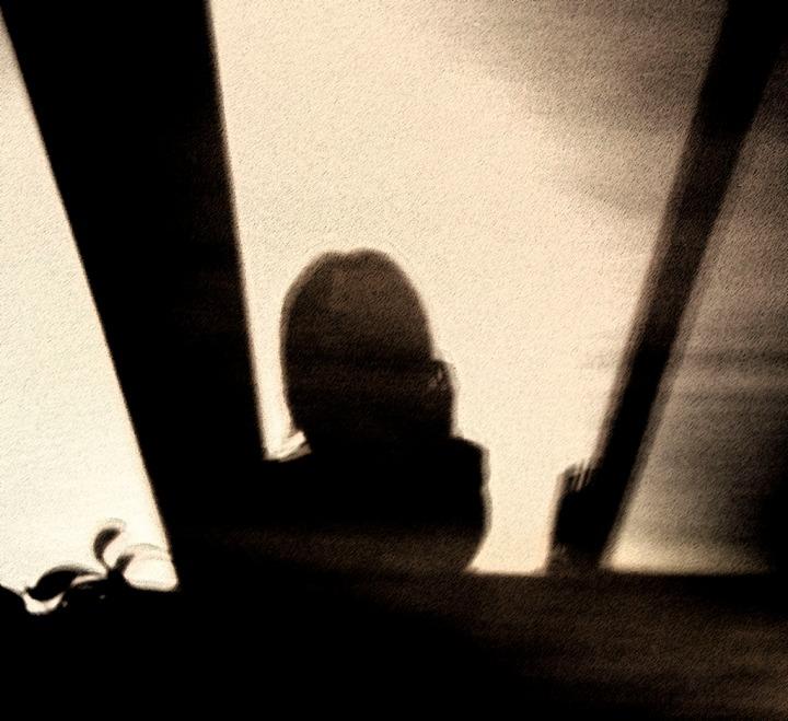 """Shadows"" Covid-19 Shadow of the Creative Self. A Self-portrait."