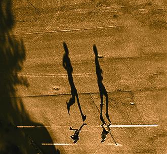 Covid-19 Shadows. ©Alina Oswald.