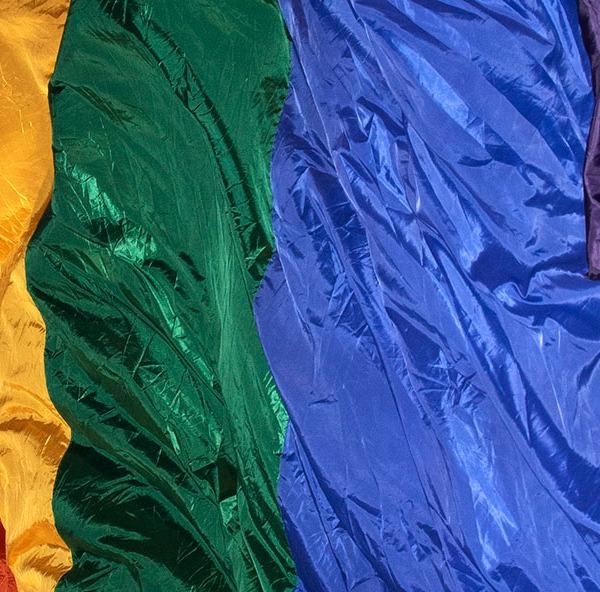 Giant Rainbow Flag. ©Alina Oswald