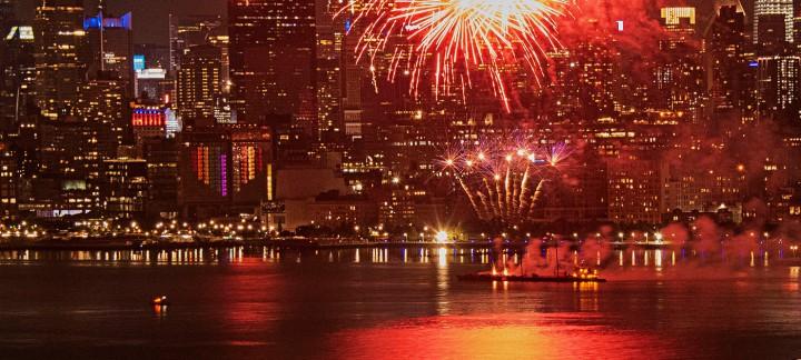 NYC Pride 2020 Fireworks. ©Alina Oswald.