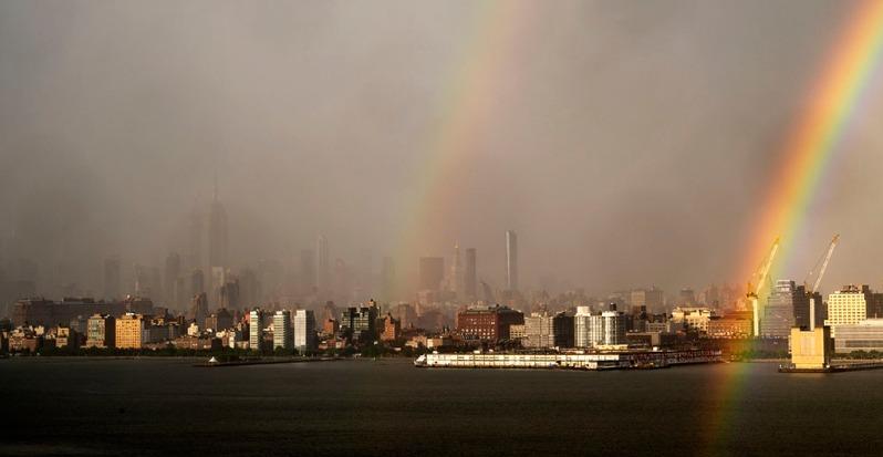 NYC Pride2020 Rainbow. ©Alina Oswald.