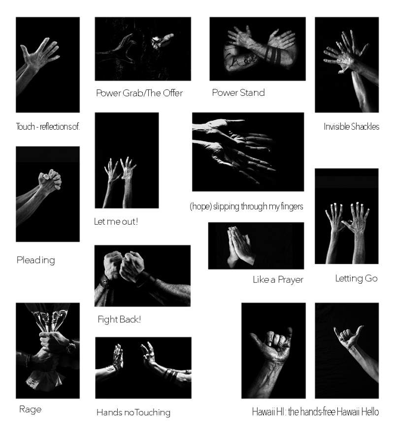 Hand Portraits and Self-Portraits in Black and White. ©Alina Oswald. All Rights Reserved.