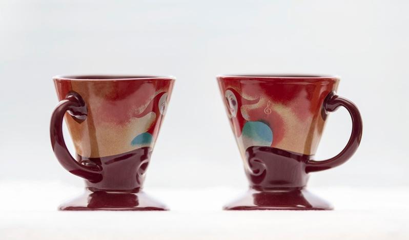 Coffee cups. ©Alina Oswald.