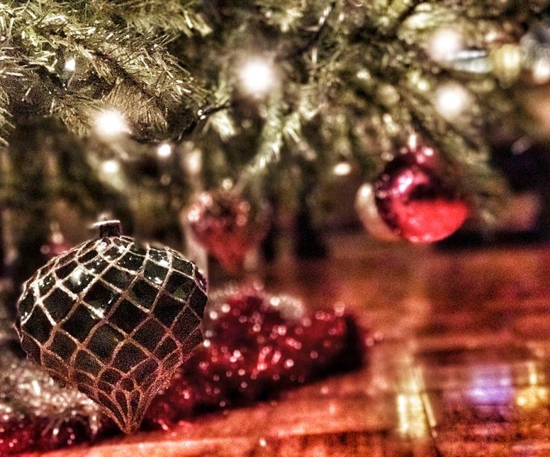 Covid-19 Christmas Tree decorations. Holiday season 2020. ©Alina Oswald.