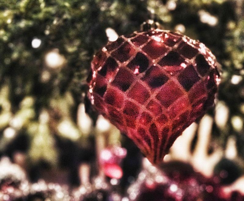 Covid-19 Christmas Tree decorations. Holiday season 2020. #iphoneography ©Alina Oswald.
