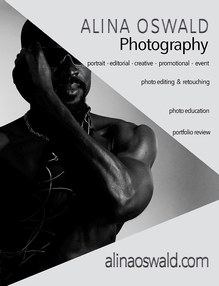 Alina Oswald Photography offers photo and photo editing services, as well as photography classes, workshops, tutoring and mentoring. Check it out!
