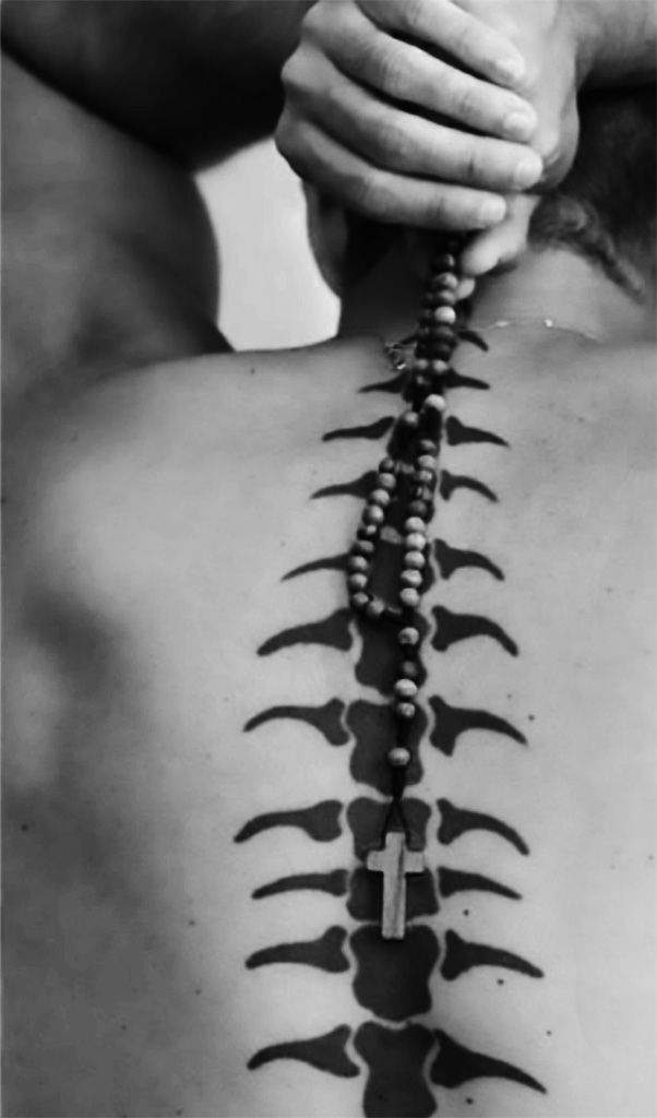 Backbone in B&W. ©Alina Oswald. All Rights Reserved.