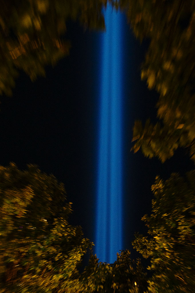 September 11 Tribute in Light. ©Alina Oswald. All Rights Reserved.