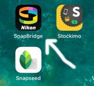 SnapBridge app.